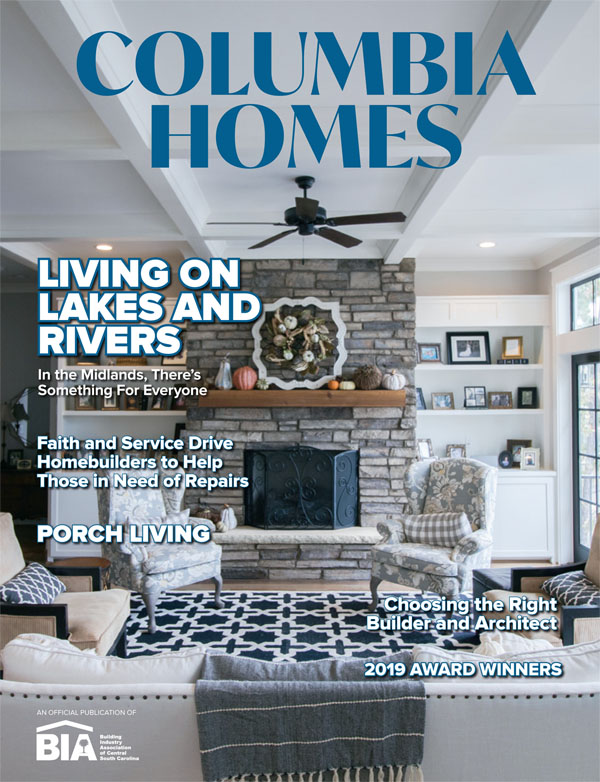 Columbia Homes magazine