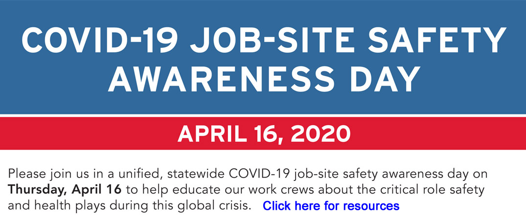 COVID-19 Job-site Safety Awareness Day