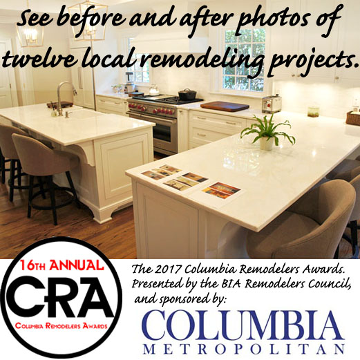 16th annual Columbia Remodelers Awards